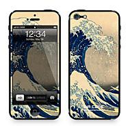 """da kode ™ kulit untuk iphone 4/4s: """"gelombang besar dari kanagawa"""" oleh Katsushika Hokusai (seri karya)"""