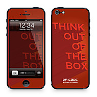 "Da Kode ™ Skin for iPhone 4/4S: ""Tenk ut av boksen"" av Steven Lin (Creative Series)"