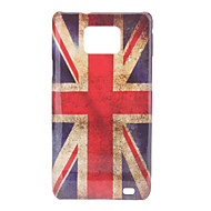 Retro Style UK National Flag Pattern Hard Case for Samsung Galaxy S2 I9100