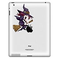 Padrão Witch adesivo de proteção para o iPad 1, iPad 2, iPad 3 e The New iPad