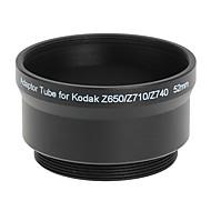 52mm Tube Adaptateur et filtre pour Kodak Z650/Z740 NOIR