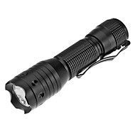 LED Flashlights/Torch / Handheld Flashlights/Torch LED 1 Mode 200 Lumens Rechargeable / Tactical / Self-Defense Cree XR-E Q5 AAEveryday