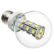 4W E26/E27 LED Globe Bulbs G60 21 SMD 5050 280 lm Natural White AC 220-240 V