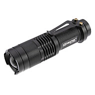 LED Flashlights/Torch / Handheld Flashlights/Torch LED 1 Mode 200 LumensAdjustable Focus / Rechargeable / Tactical / Compact Size / Small