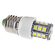 Lampadine a pannocchia 27 SMD 5050 E26/E27 3.5 W 330 LM Bianco caldo/Luce fredda AC 110-130 V