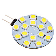 G4 2 W 15 SMD 5050 150 LM Natural White Bi-pin Lights AC 12 V