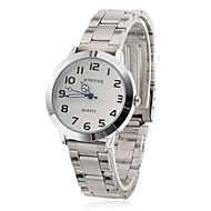 Women's Steel Analog Quartz Wrist Watch (Silver)