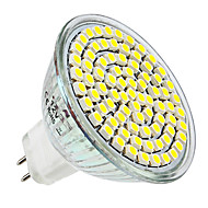 4W E14 / GU10 / GU5.3(MR16) / E26/E27 LED Spotlight MR16 80 SMD 3528 300 lm Warm White / Natural White DC 12 / AC 220-240 V