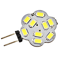 G4 2.5 W 9 SMD 5730 220 LM Natural White Bi-pin Lights DC 12 V