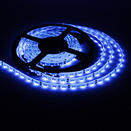 Waterdichte 5M 20W 300x335SMD Blue Light LED Strip lamp (DC 12V)