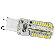 G9 3W 64x3014SMD 210-240LM 6000-6500K Natural White Light Resin LED Corn Bulb (220V)