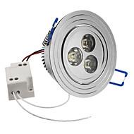 3W 240-270LM 6000-6500K natürliches weißes Licht LED-Deckenleuchte Lampe (85-265V)