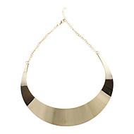 Naisten Choker-kaulakorut Metalliseos Muoti minimalistisesta Kultainen Korut Varten Party Päivittäin 1kpl