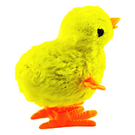 Stem Winding up Plastic Chicken Jumping(Random Color)