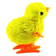 Stem Afvikling Plastic Chicken Jumping (tilfældig farve)