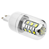 G9 / E26/E27 7W 600 LM Natural White T LED Corn Lights AC 220-240 V