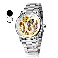 Women's Butterfly Style Silver Dial Steel Analog Auto-Mechanical Wrist Watch (Assorted Colors) Cool Watches Unique Watches
