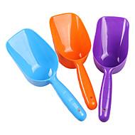 Pala de plástico para alimentos para mascotas (color al azar)
