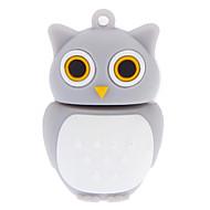 8GB Soft Rubber Night Owl USB Flash Drive