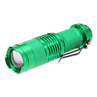 LED Flashlights/Torch / Handheld Flashlights/Torch LED 1 Mode 200 Lumens Adjustable Focus / Tactical / Compact Size / Small SizeCree XR-E