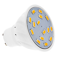 GU10 4W 15 SMD 5730 300-330 LM Warm White LED Spotlight AC 220-240 V