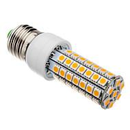 7W E26/E27 Lâmpadas Espiga T 63 SMD 5050 620-640 lm Branco Quente AC 220-240 V