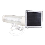 5-LED Indoor Outdoor Solar Powered Panel Garden Switch Lamp Shed Yard Light