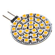 2W G4 / GU4(MR11) LED-kohdevalaisimet 30 SMD 3528 90-110 lm Lämmin valkoinen AC 12 V