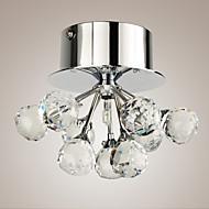 Flush Mount ,  Modern/Comtemporary Chrome svojstvo for Crystal Mini Style Metal Living Room Bedroom Dining Room