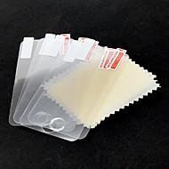 5-delige Verpakt Beschermende Clear Screen Protector met een reinigingsdoekje voor de iPod touch 4