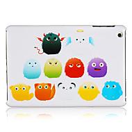 felpa de plástico bola del monstruo del caso para el iPad Mini 3, Mini iPad 2, iPad mini