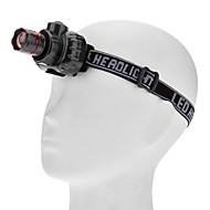 Headlamps LED 3 Mode 80lm Lumens Adjustable Focus / Waterproof / Super Light / Compact Size / Small Size AAAEveryday Use / Cycling /
