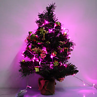 10M 6W 100-LED Purple LED Strip Light til jul Halloween Festival Decoration (110V)