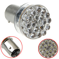 1157/BAY15D 2057 24 LED Car Staart Brake Stop Turn Light Bulb Lamp Wit