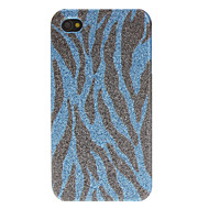Shimmering Zebra Print Pattern Hard Case for iPhone 4/4S (Assorted Colors)