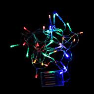 4.5M 3W 30-LED Batteridrevet RGB Light LED stripe lys for Juledekorasjoner