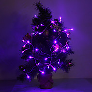 4M 3W 40-LED 210LM Purple Light LED Strip Light for Christmas Decorations