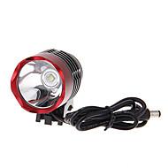 Hodelykter / Sykkellykter / Frontlys til sykkel LED Cree XM-L U2 Sykling Oppladbar 18650 1000 Lumens BatteriCamping/Vandring/Grotte
