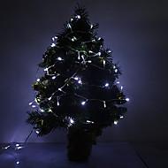 10M 5W 100-LED 350LM 6000K Cool White Light LED stripe lys (220V)