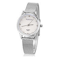 Women's Simple Round Dial Steel Band Quartz Analog Wrist Watch (Assorted Colors) Cool Watches Unique Watches Fashion Watch