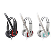 Salar A584 Fashionable Stereo Over-Ear Headphone with Mic and Remote for PC/iPod/iPhone/Samsung/HTC
