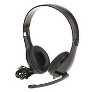 Kanen KM-1080 Högkvalitativa hörlurar med mikrofon för dator