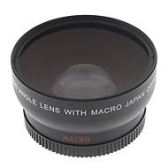 Lentes Conversoras Macro HD Grande Angular 55mm 0.45x para Canon EOS Rebel