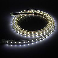 2M 20W 6000K 1400lm 5050SMD Cool White LED Light Strip luz (220V)