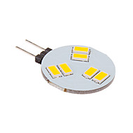 G4 3 W 6 SMD 5630 260 LM Warm White Spot Lights DC 12 V
