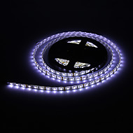 Waterproof 5M 60W 60x5050SMD 3000-3600LM 6000-7000K Cool White Light LED Strip Light with 12V 5A Adapter