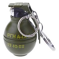 Avaimenperä Style Grenade Shaped Alloy Kevyempi