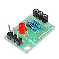 Νέα θερμοκρασίας DS18B20 Αισθητήρας Ασπίδα χωρίς DS18B20 Chip