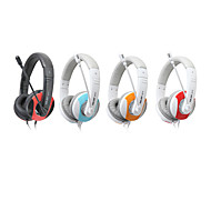 Salar A575 Fashionable Stereo Over-Ear Headphone with Mic and Remote for PC/iPod/iPhone/Samsung/HTC