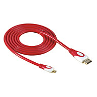 HD-143-RE Micro HDMI para HDMI 1.4 HDTV Cabo para DC DV Tablet